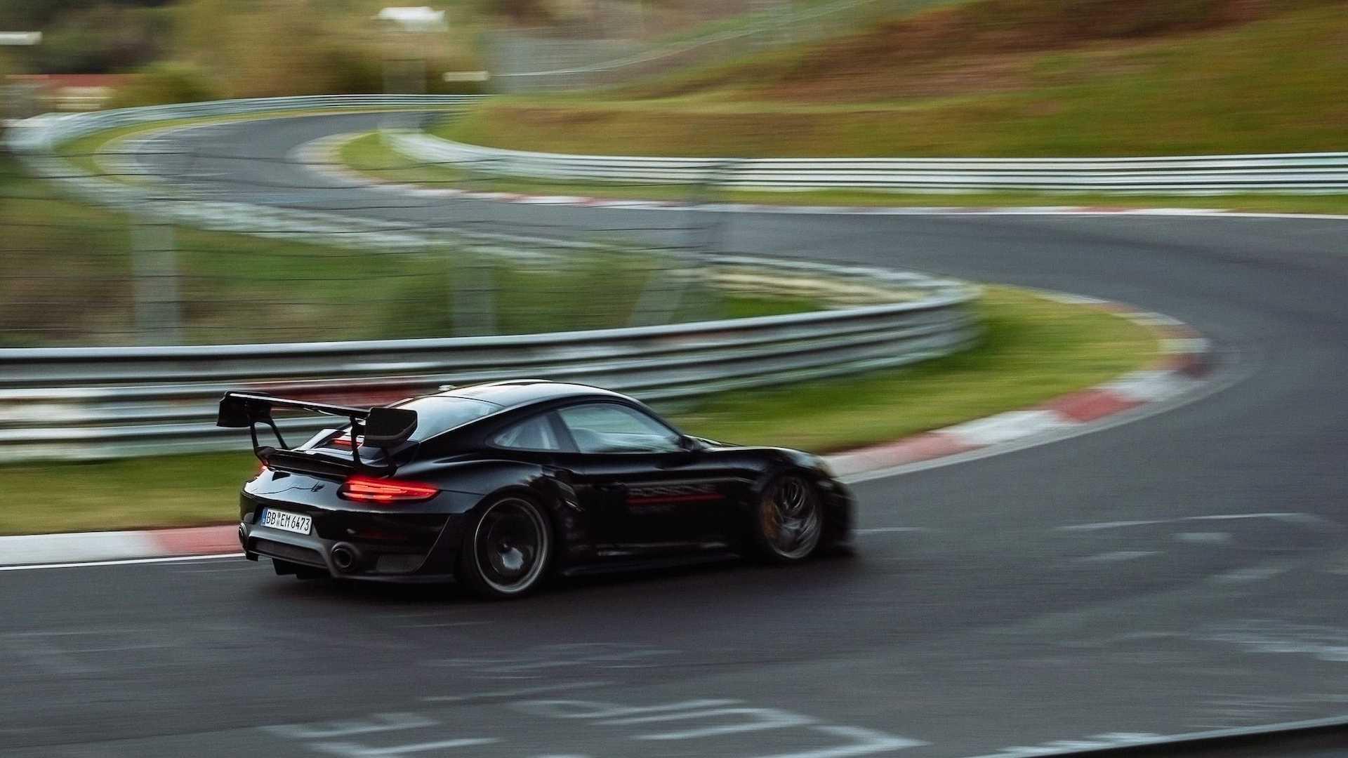 Porsche 911 GT2 RS de Manthey
