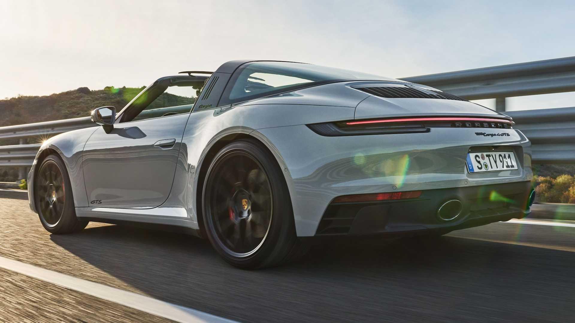 Los nuevos Porsche 911 GTS 2022 se ofrecen en formato Coupé, Cabrio y Targa