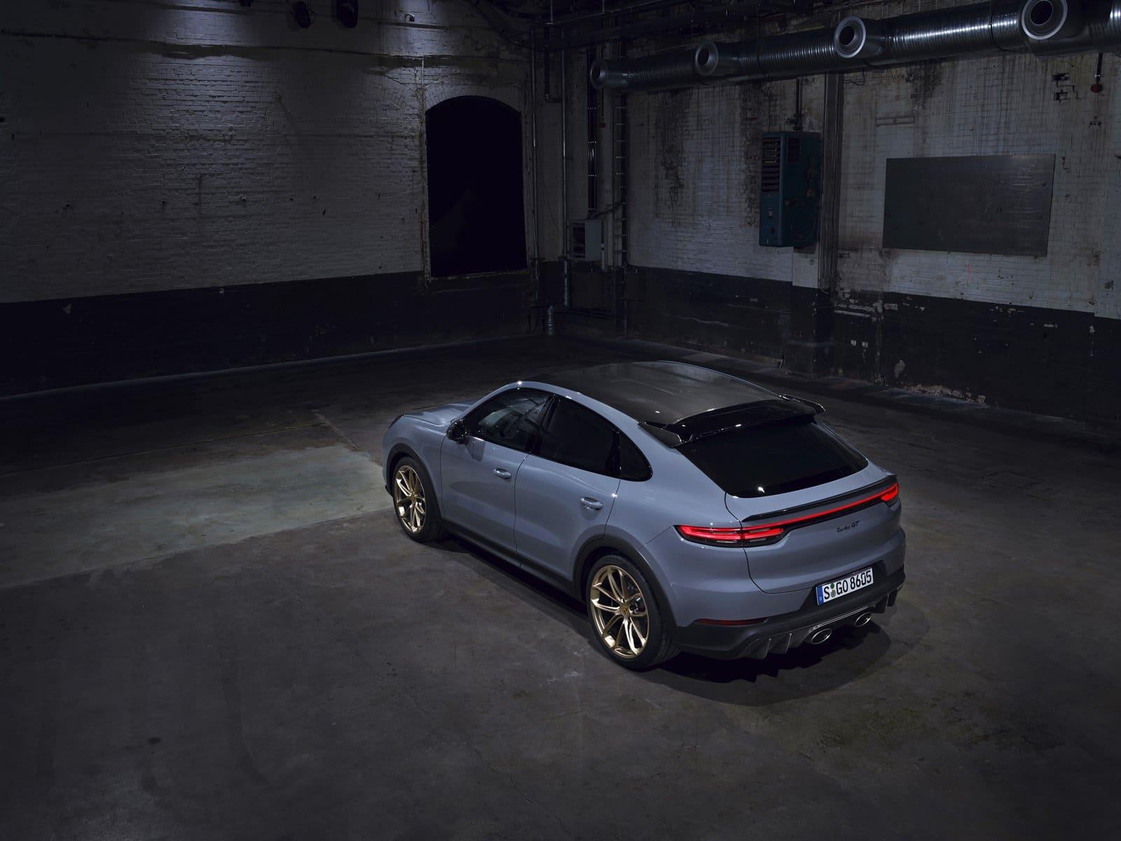 640 CV para el Porsche Cayenne Turbo GT