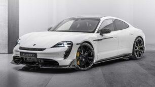 La apuesta de Mansory para el Porsche Taycan te va a encantar pese a su discreción