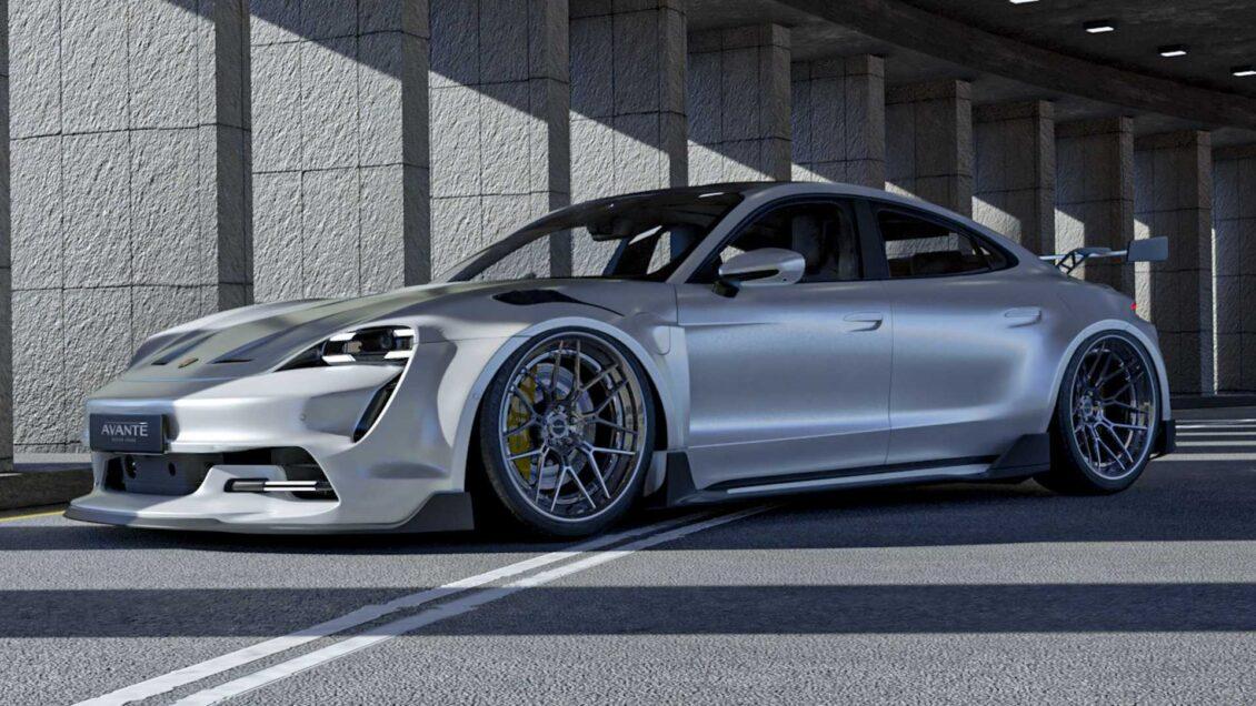 Los Porsche Taycan de Avante Design son las propuestas más radicales que vas a conocer