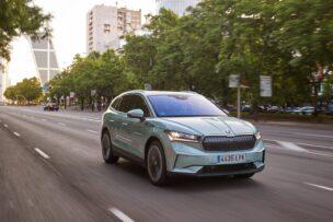 Nos ponemos al volante del Škoda Enyaq iV 80