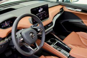 Interior Škoda Enyaq iV 80