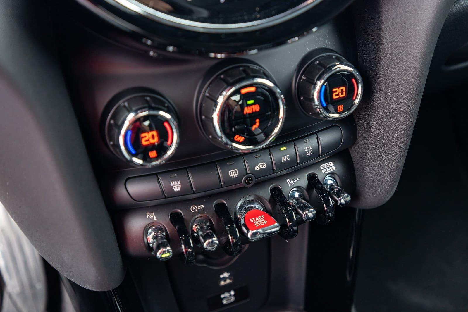 Botón de arranque MINI Cooper S