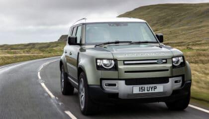 Land Rover Defender Proyecto Zeus