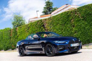 El BMW 430i Cabrio mejora en muchos puntos frente a su predecesor