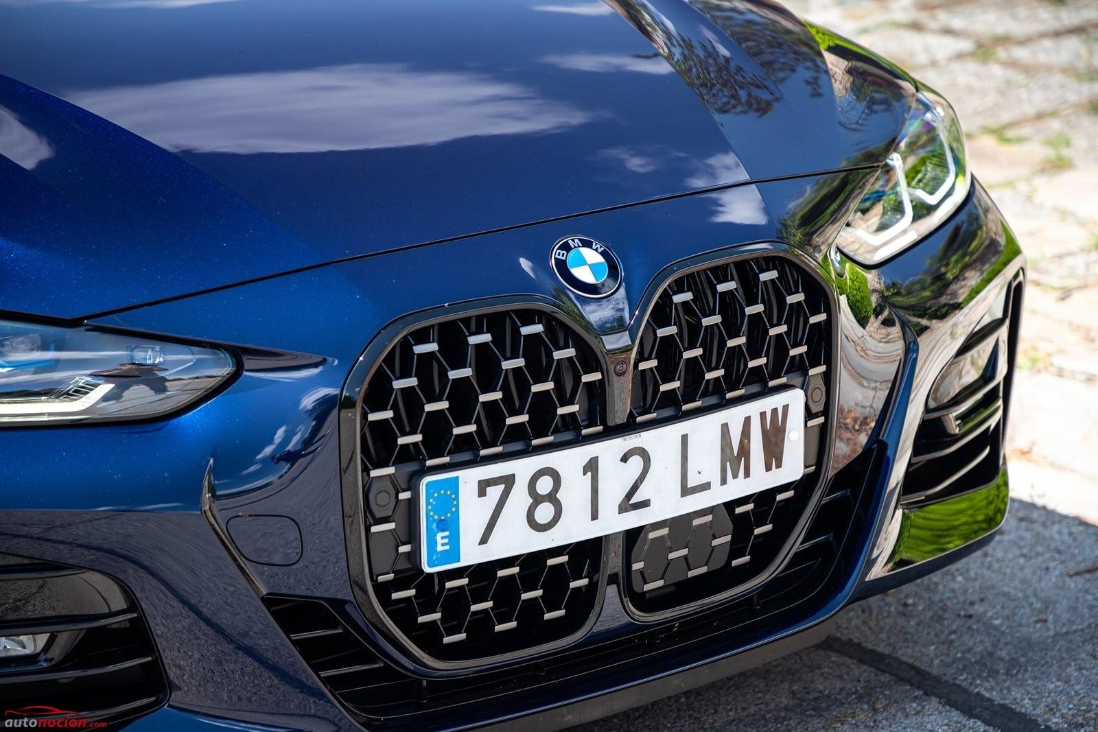 Parrilla frontal BMW 430i Cabrio