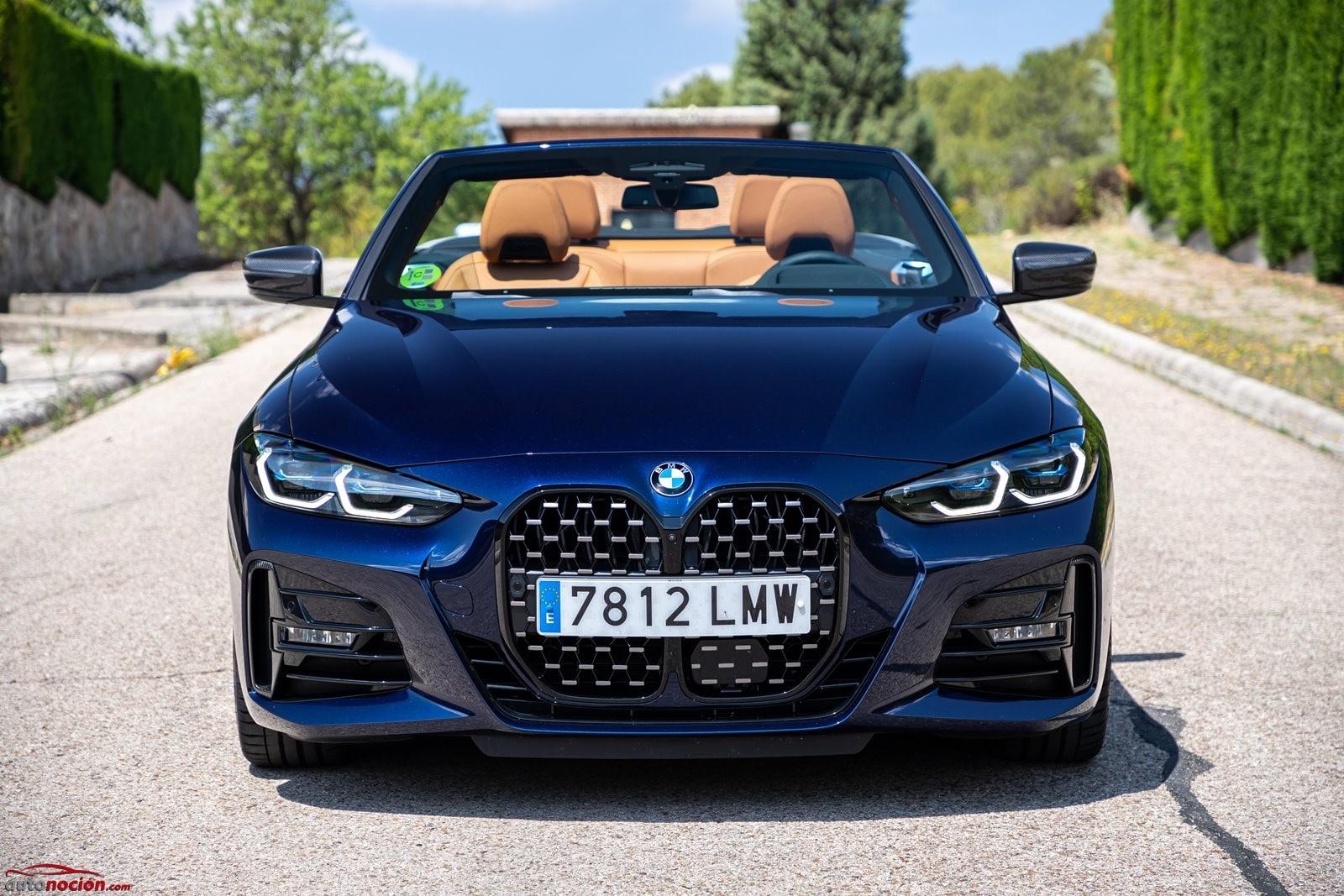 Frontal BMW 430i Cabrio