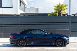Lateral capota cerrada BMW 430i Cabrio