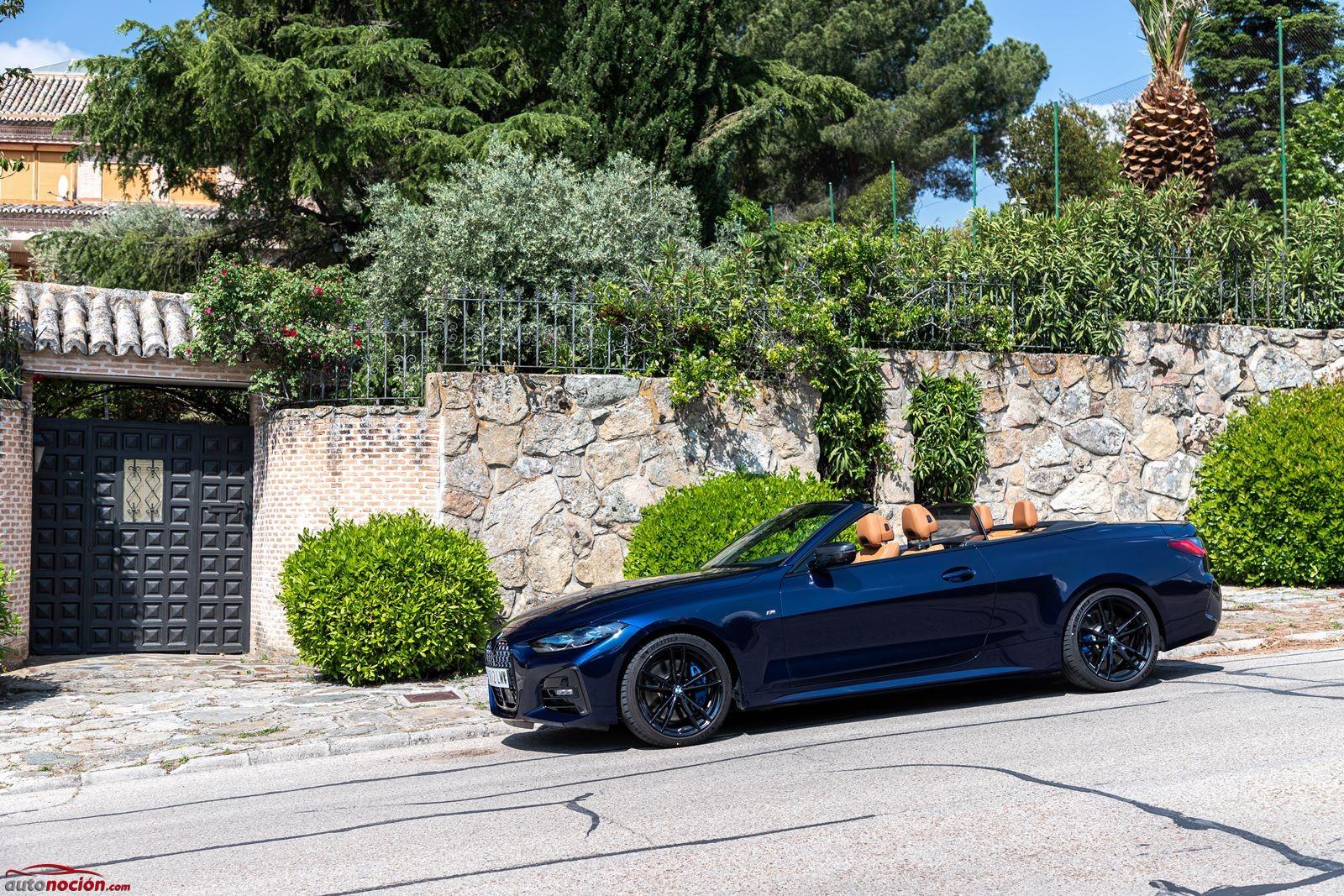Sorprende el confort en el BMW 430i Cabrio frente a la versión Coupé