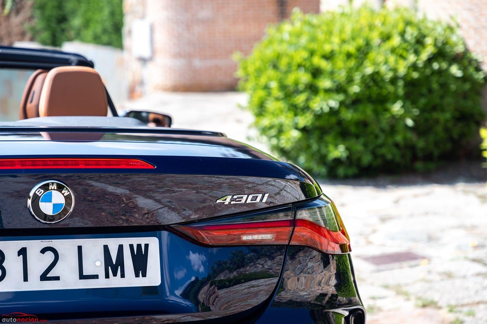 La denominación del BMW 430i Cabrio se puede suprimir