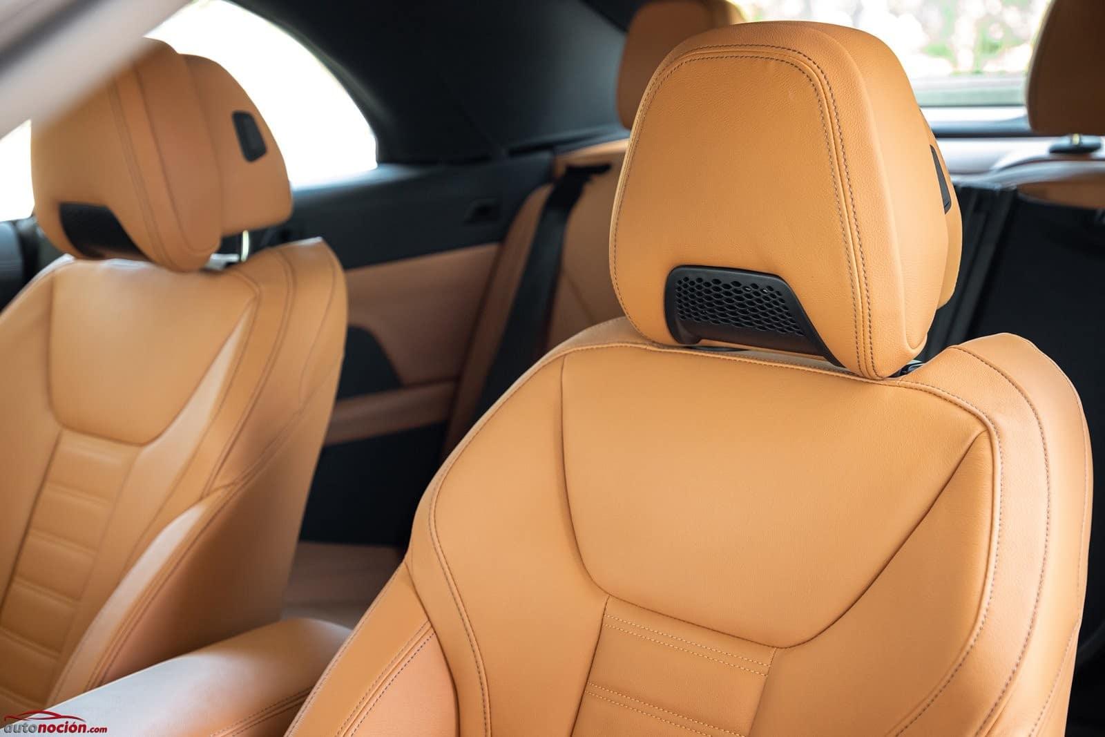 El Air Collar es un extra en el BMW 430i Cabrio