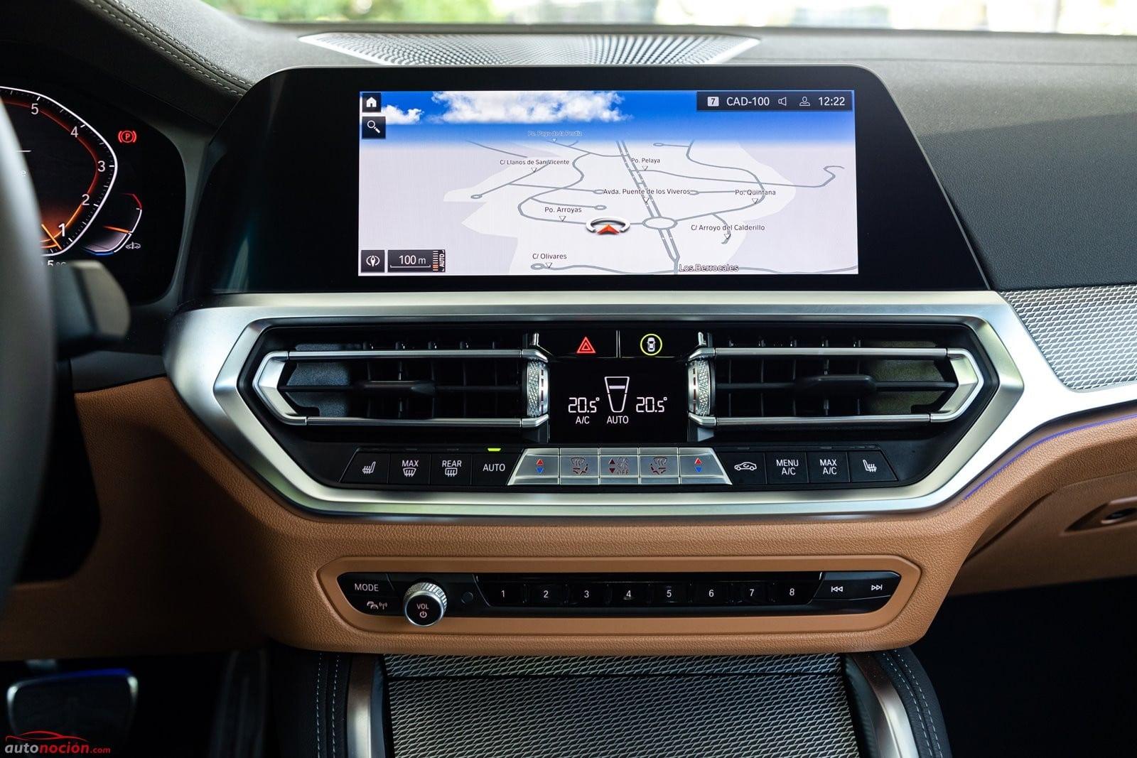 Hay mucha tecnología a bordo del BMW 430i Cabrio