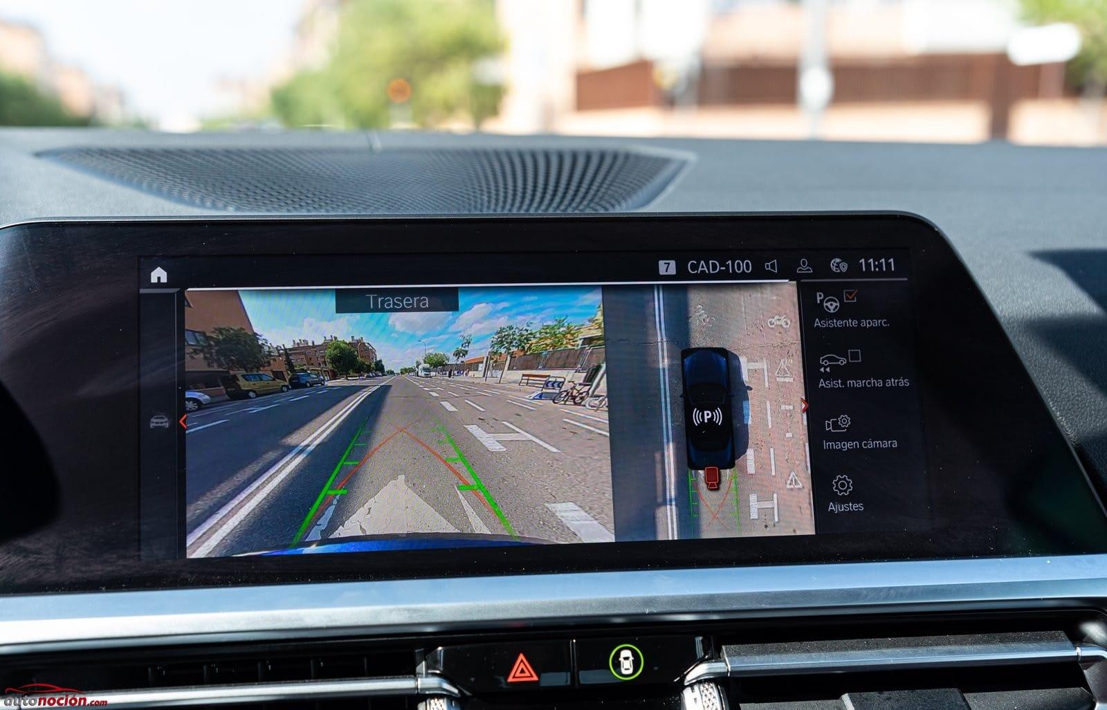 Cámara de visión trasera BMW 430i Cabrio