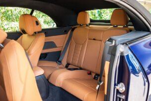 Plazas traseras BMW 430i Cabrio