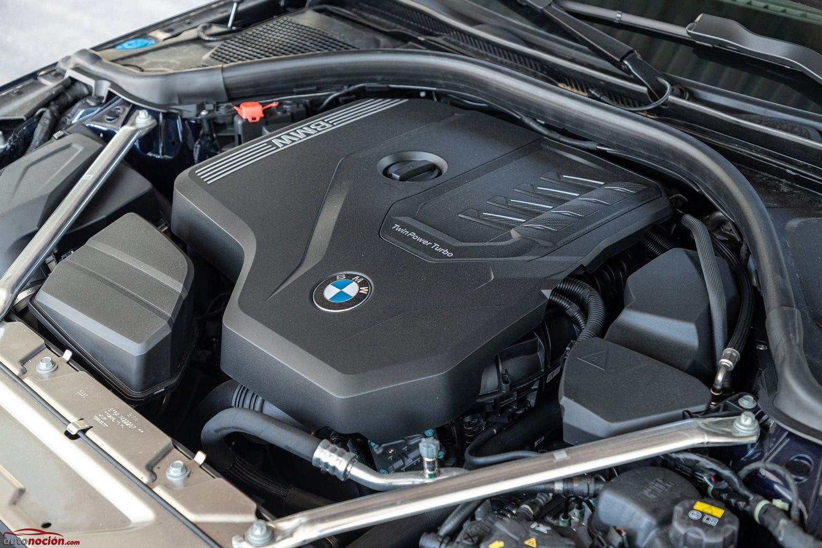 El BMW 430i Cabrio monta un bloque de cuatro cilindros