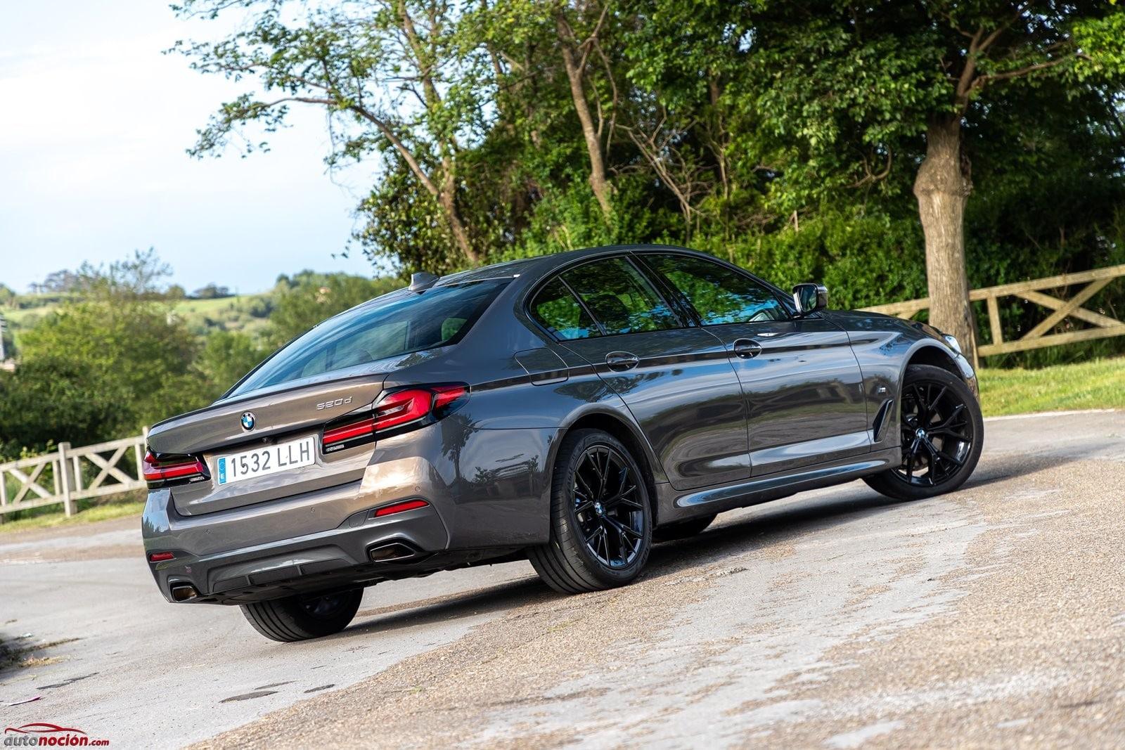 Agilidad y confort se dan la mano en el BMW 520d Berlina