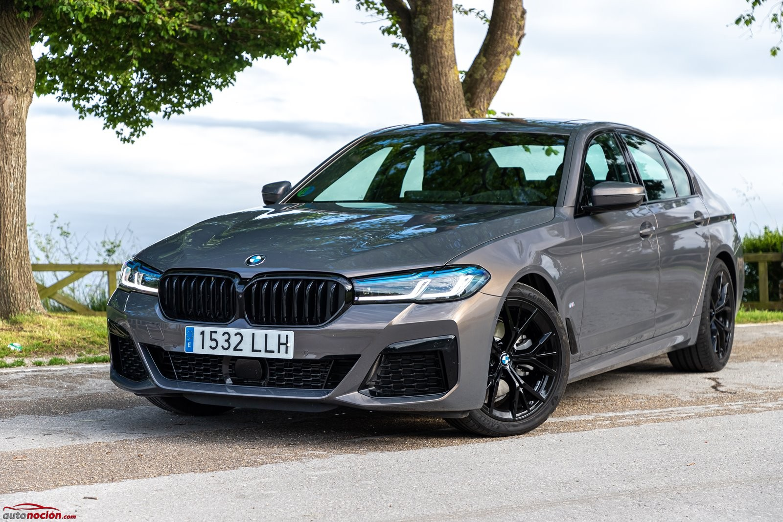 Frontal BMW 520d Berlina