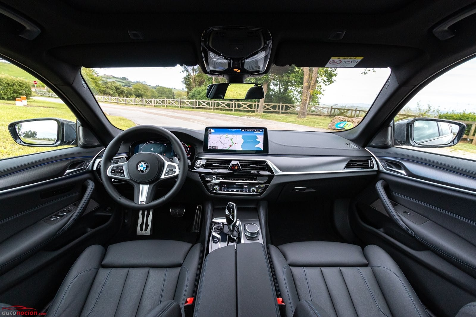 Interior BMW 520d Berlina