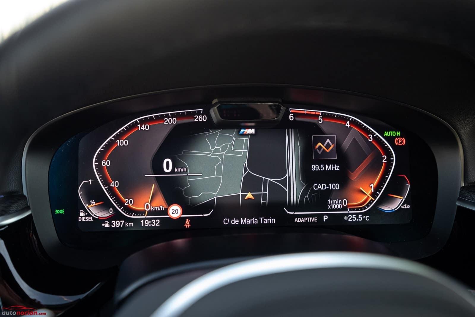 Instrumentación digital BMW 520d Berlina