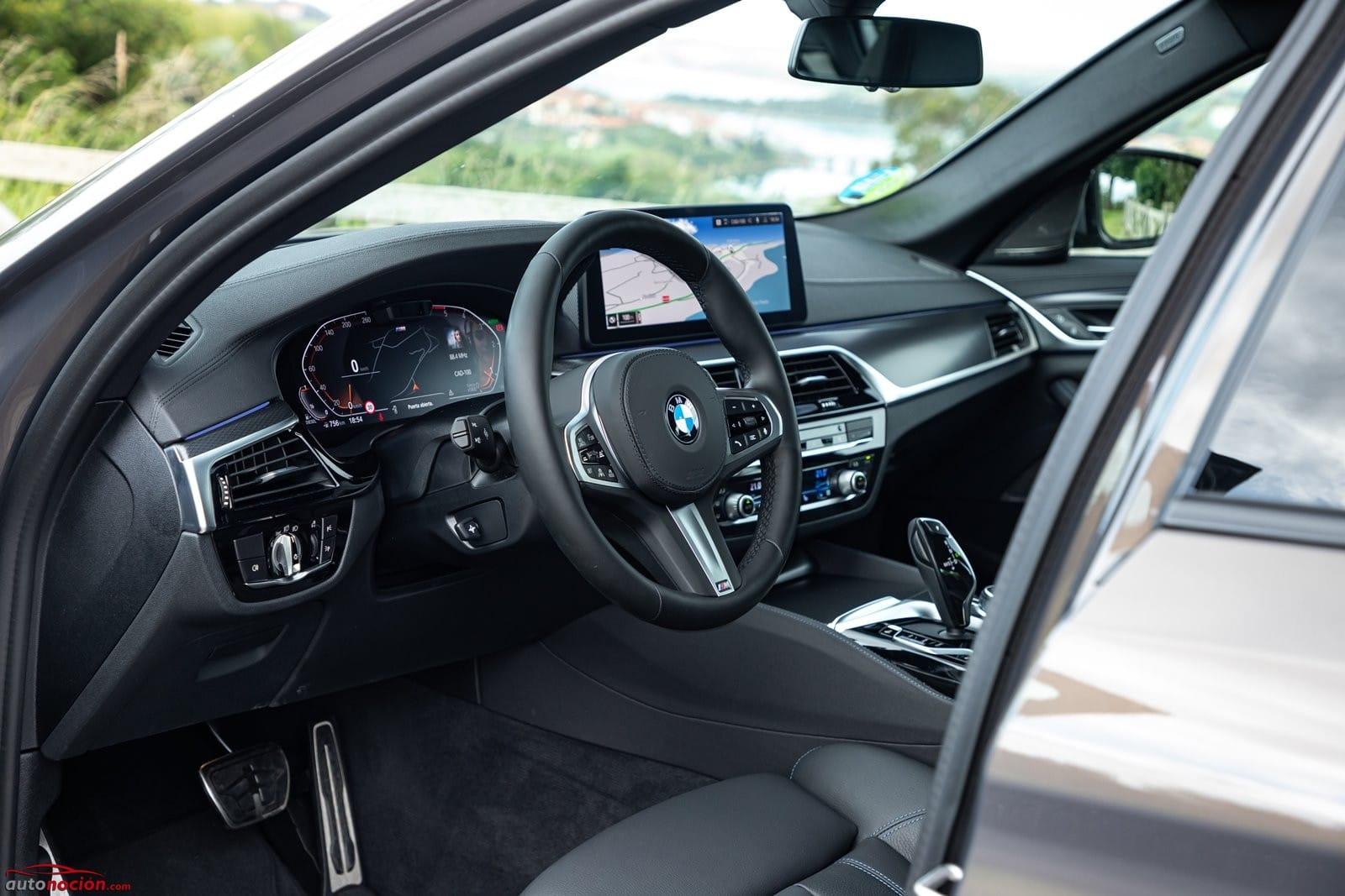 Habitáculo BMW 520d Berlina