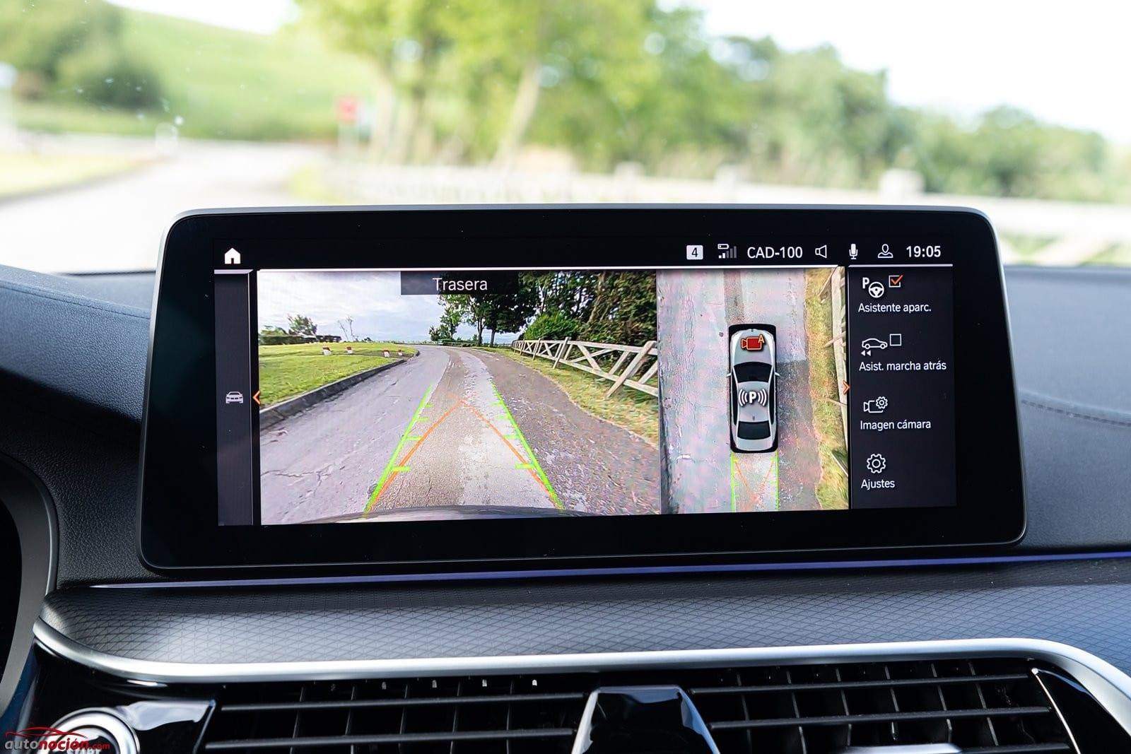 Vista cámaras BMW 520d Berlina