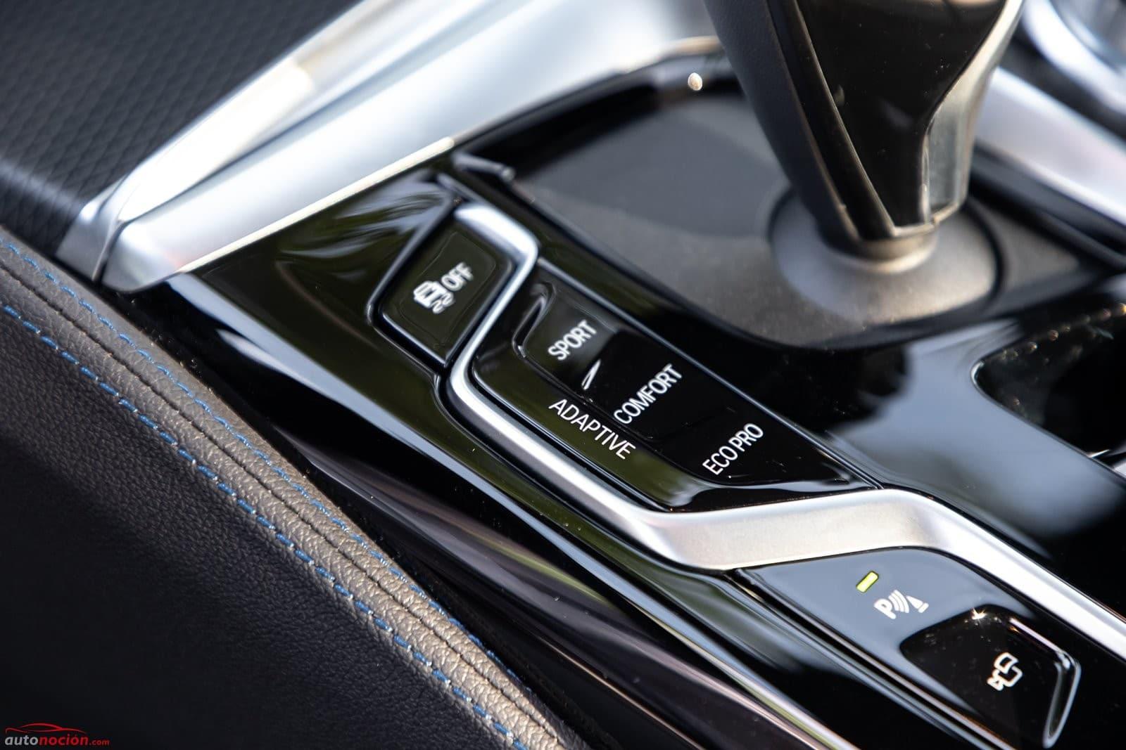 Modos de conducción BMW 520d Berlina