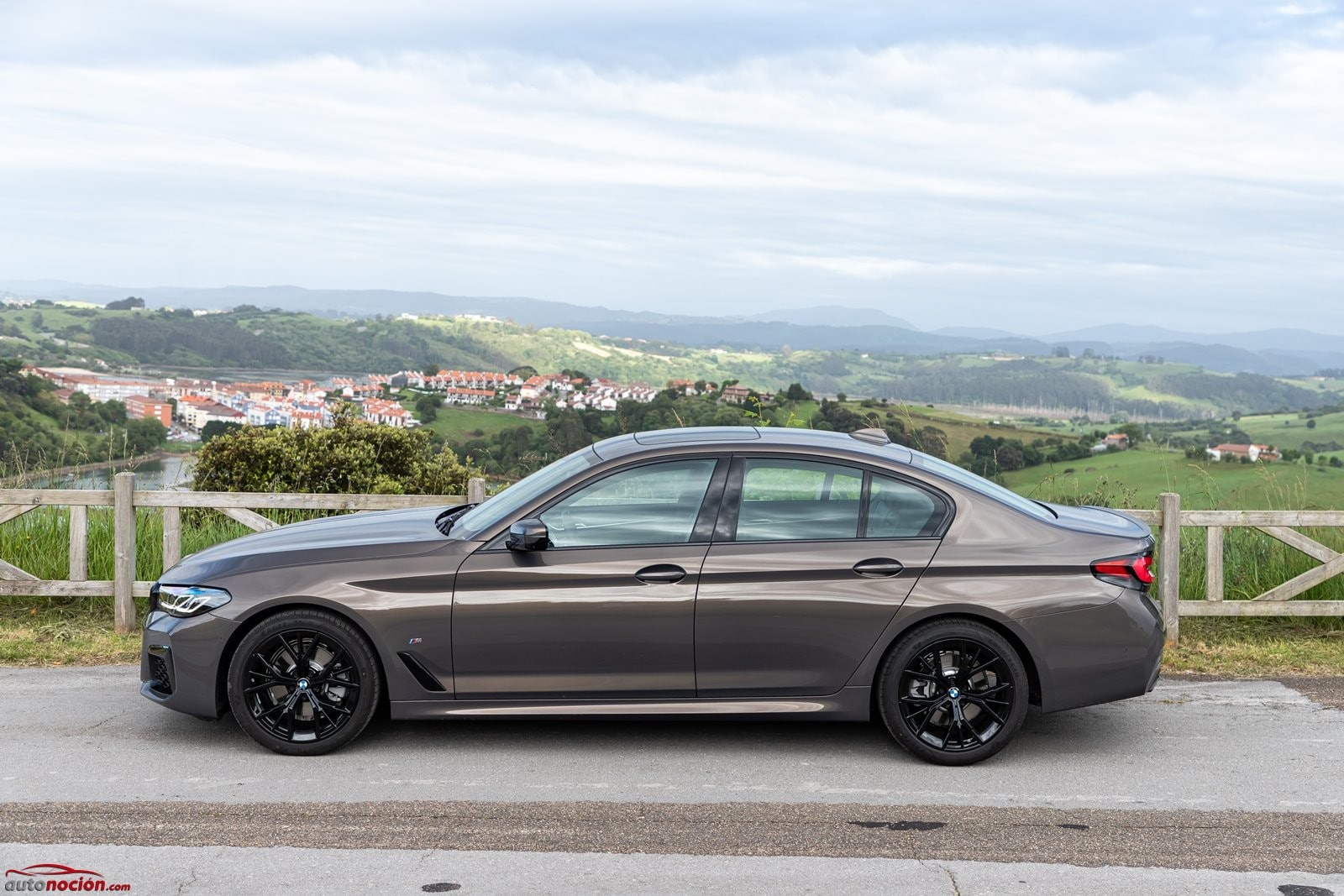 Lateral BMW 520d Berlina