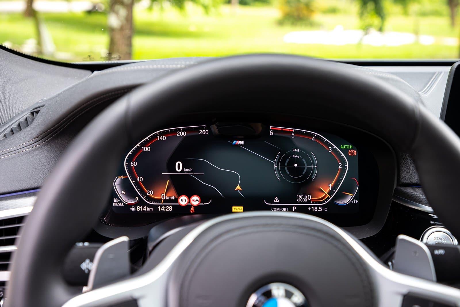 Cuadro digital BMW 630d GT