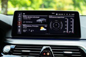 Pantalla multimedia BMW 630d GT