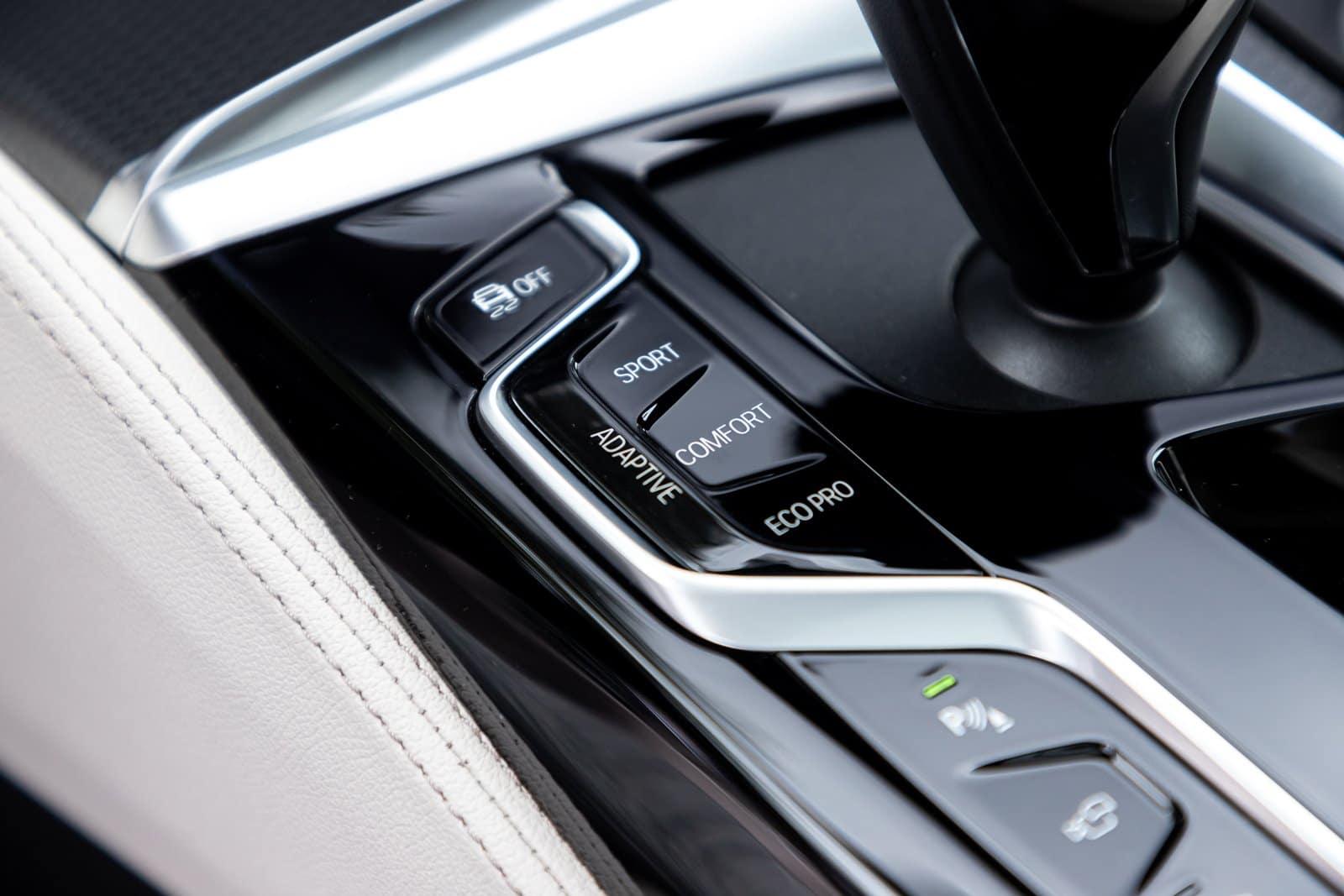 Modos de conducción BMW 630d GT