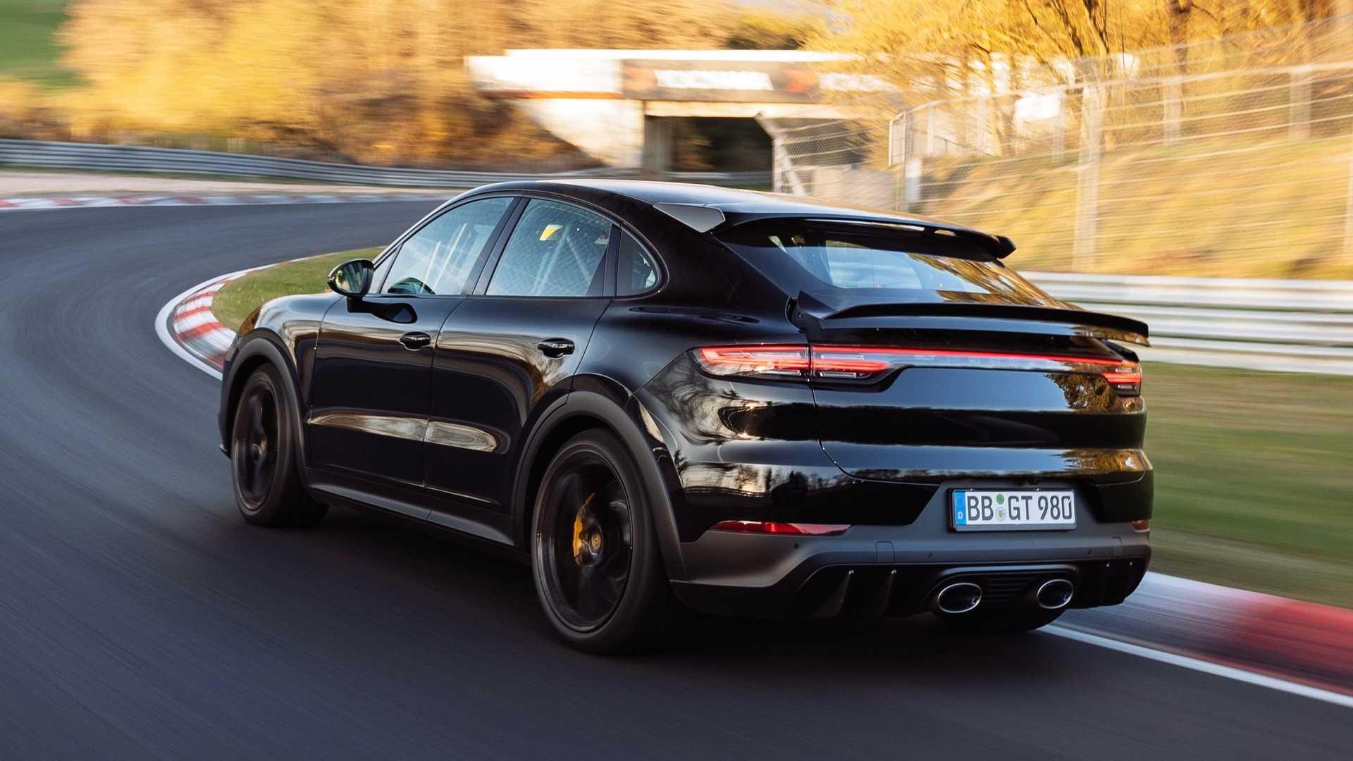 Récord en Nürburgring para el Porsche Cayenne Coupé 2022