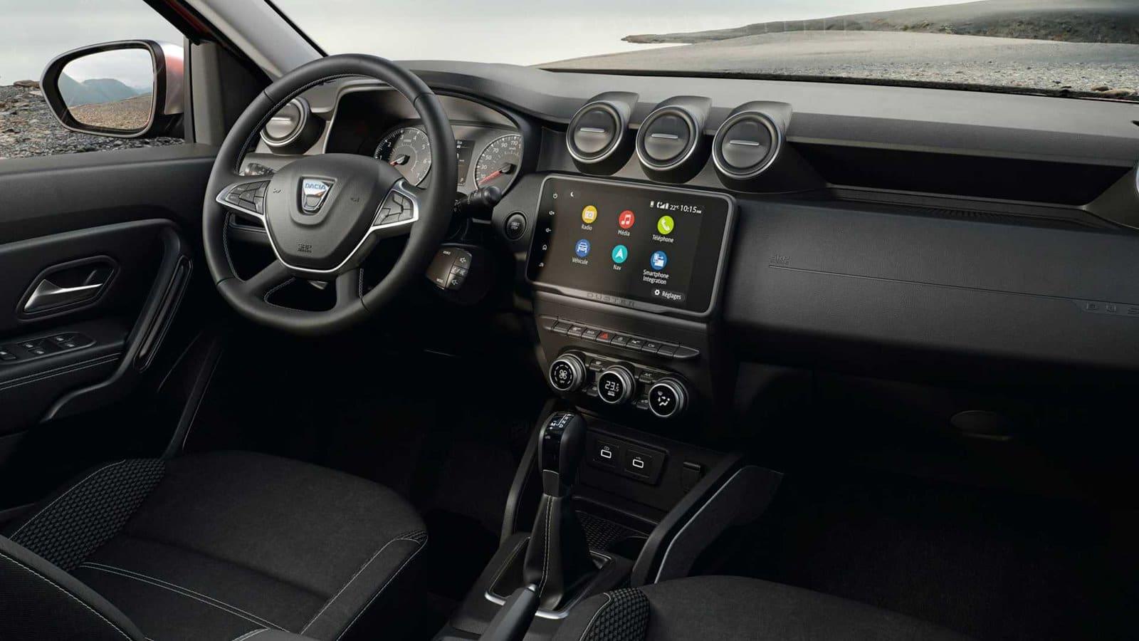 interior restyling del Dacia Duster