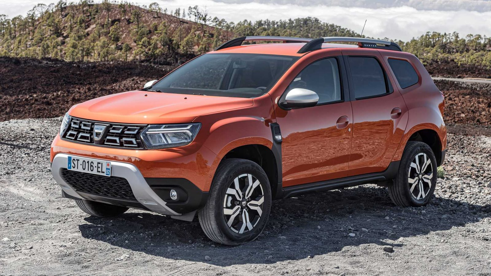 restyling del Dacia Duster