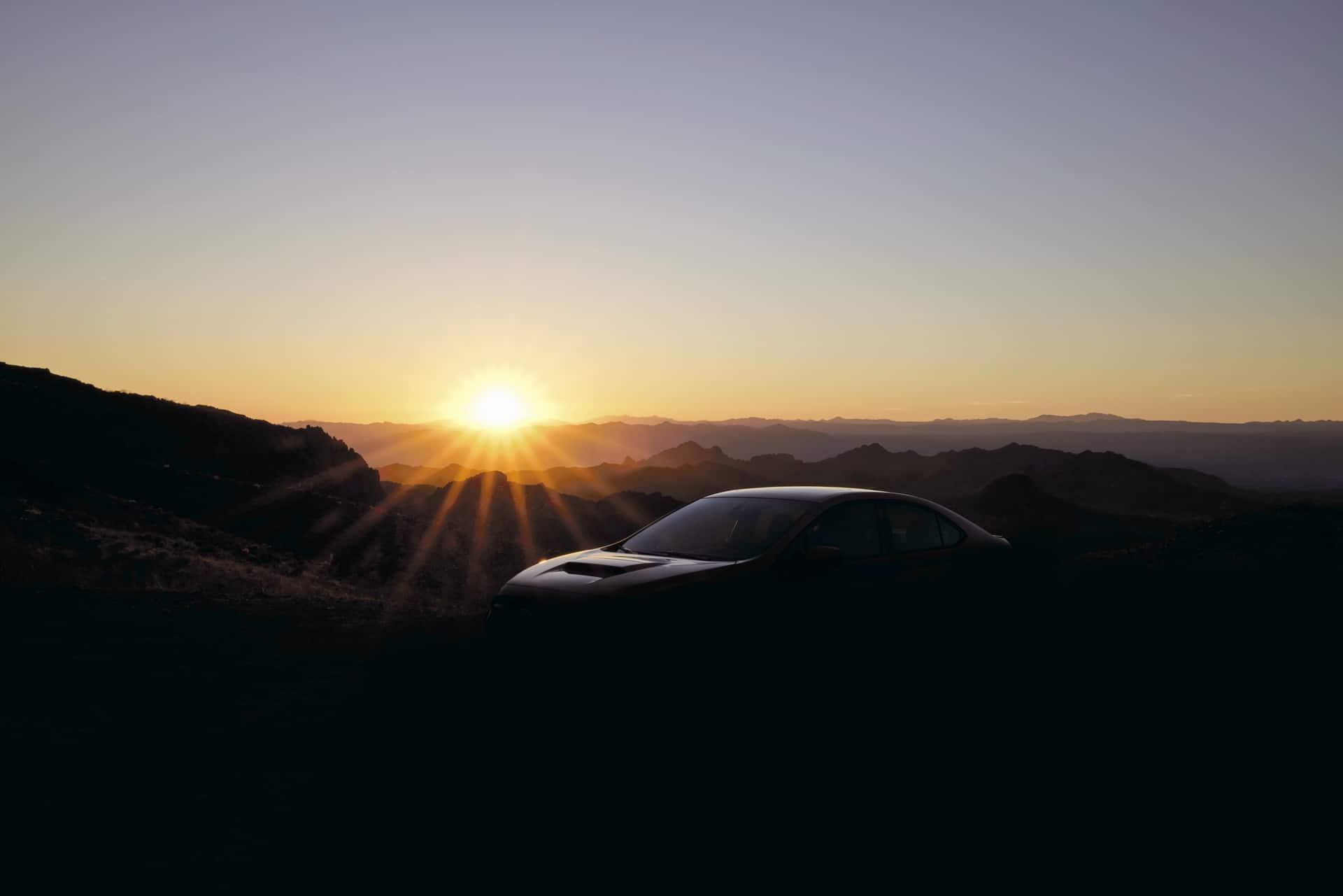 Teaser del Subaru WRX STI 2022