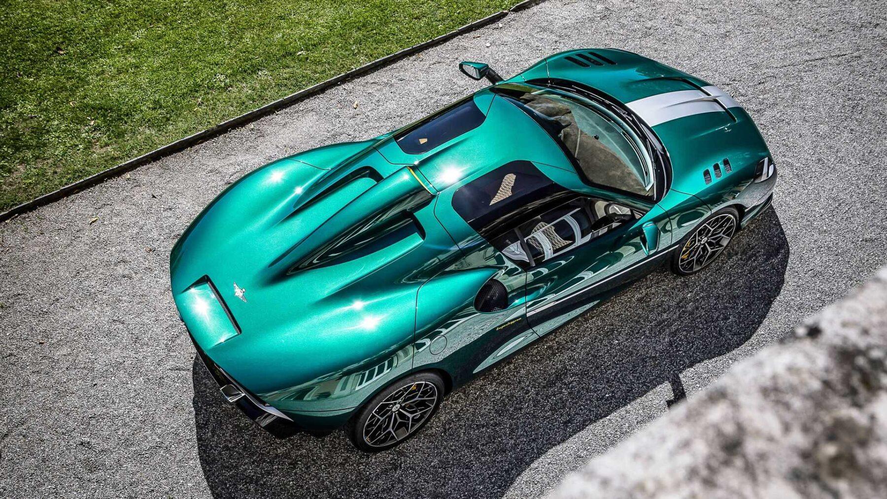 El Touring Superleggera Arese RH95 es tremendamente atractivo