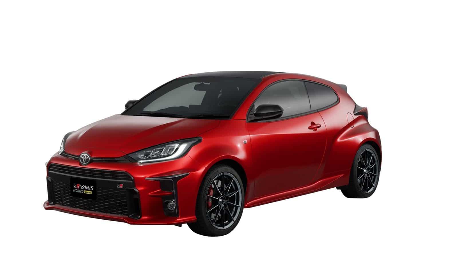 El Toyota GR Yaris Morizo Selection evoluciona con su conductor