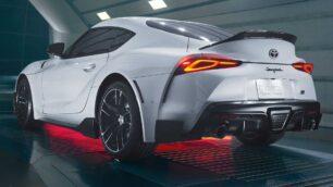 El Toyota Supra A91-CF Edition está bañado en fibra de carbono