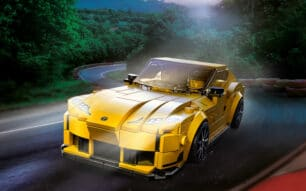 Ya te puedes hacer con el Toyota Supra de LEGO Speed Champions