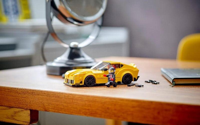 Ya está disponible el Toyota Supra de LEGO Speed Champions