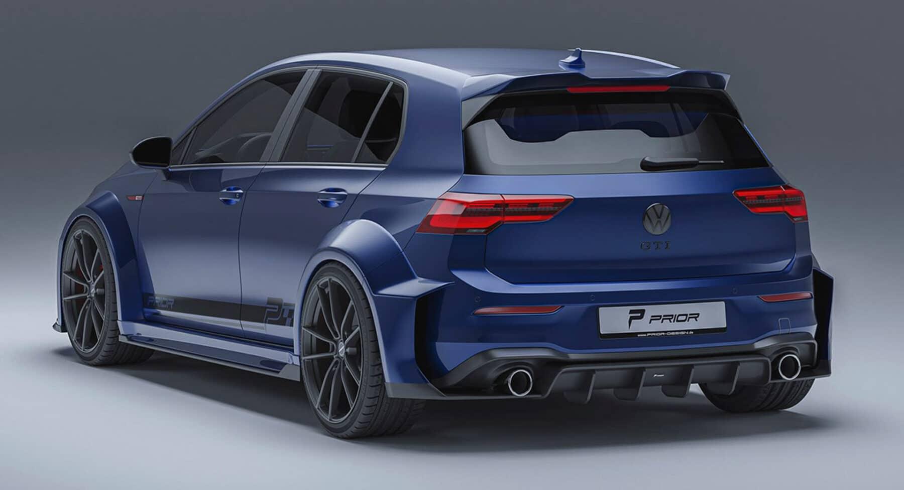 El Volkswagen Golf GTI de Prior Design es una auténtica locura
