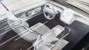 En el Volvo Concept Recharge se han optimizado la aerodinámica y el espacio interior