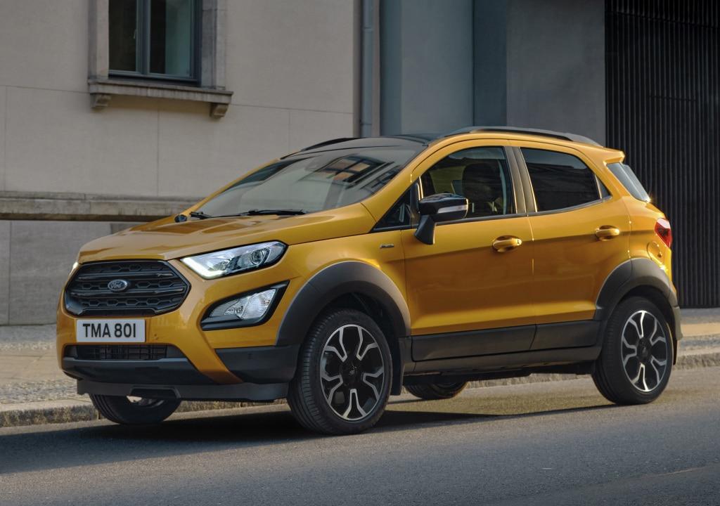 Nueva gama 2022 del Ford EcoSport: Con faros LED de serie