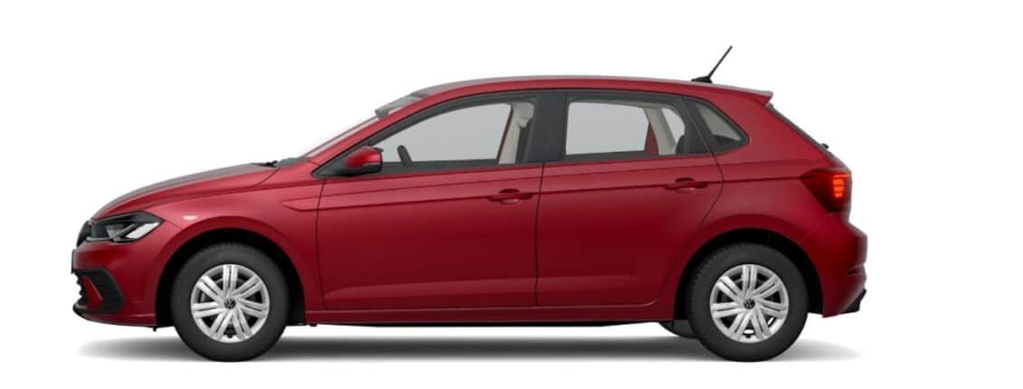 Así luce el Volkswagen Polo 2021 más barato