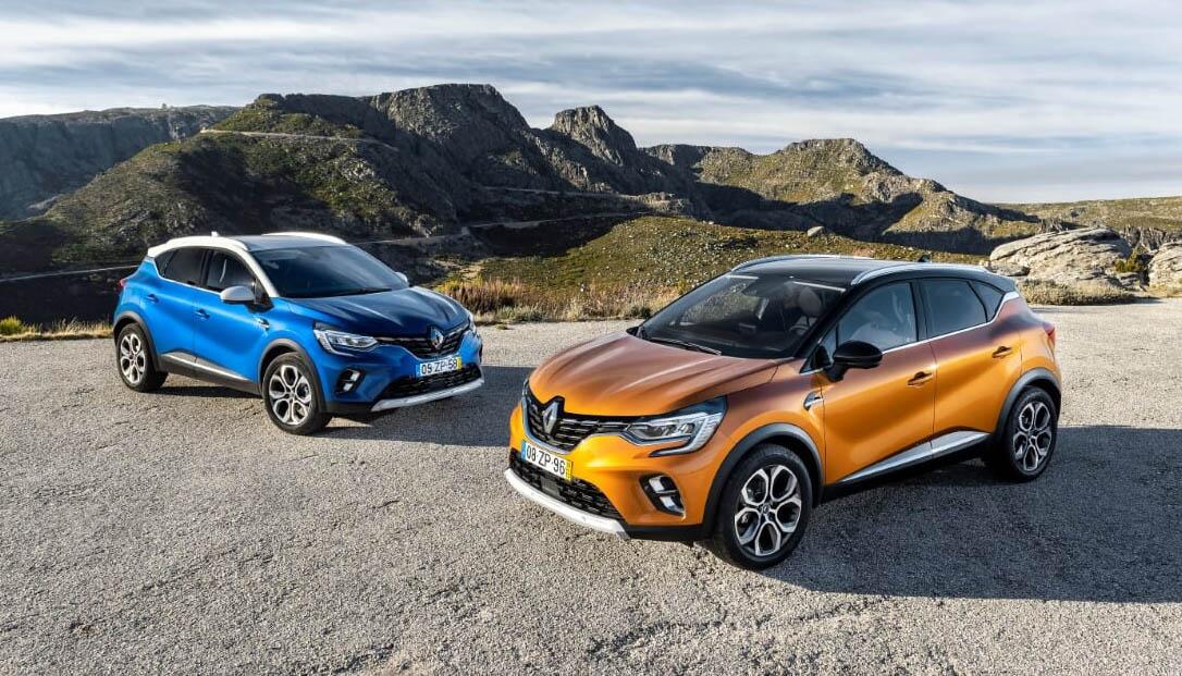 El Renault Captur, líder en Portugal: Los «made in Spain» funcionan bien
