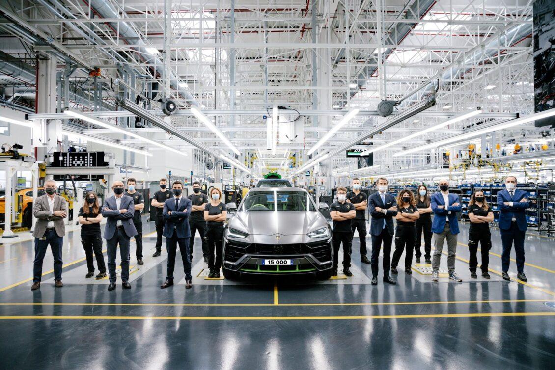 No hay crisis para los ricos: van 15.000 Lamborghini Urus en apenas tres años