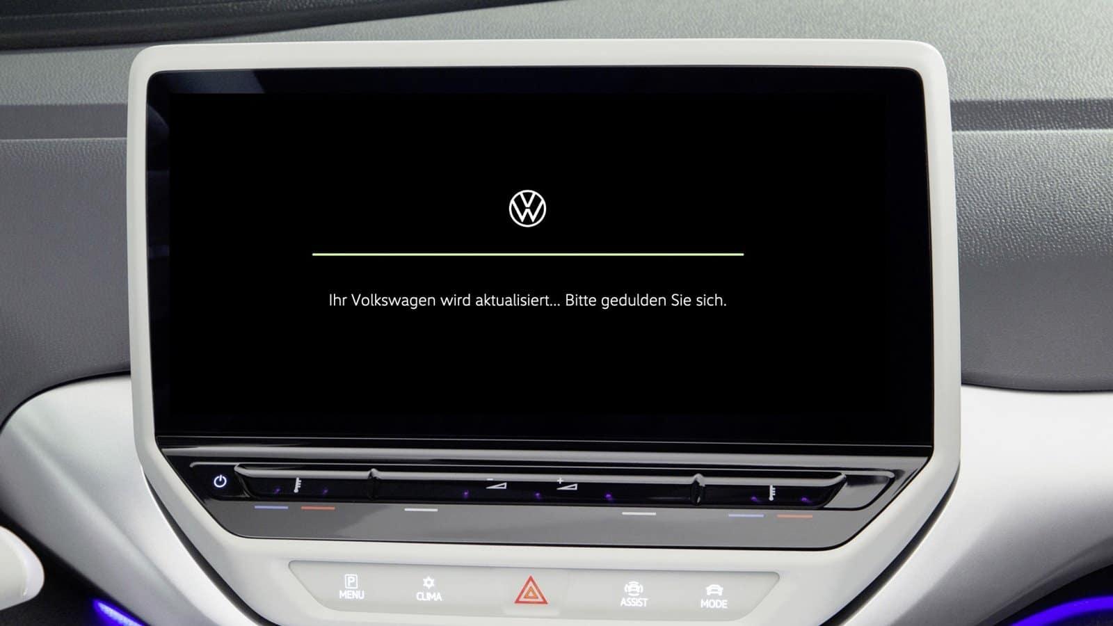 actualización inalámbrica de Volkswagen