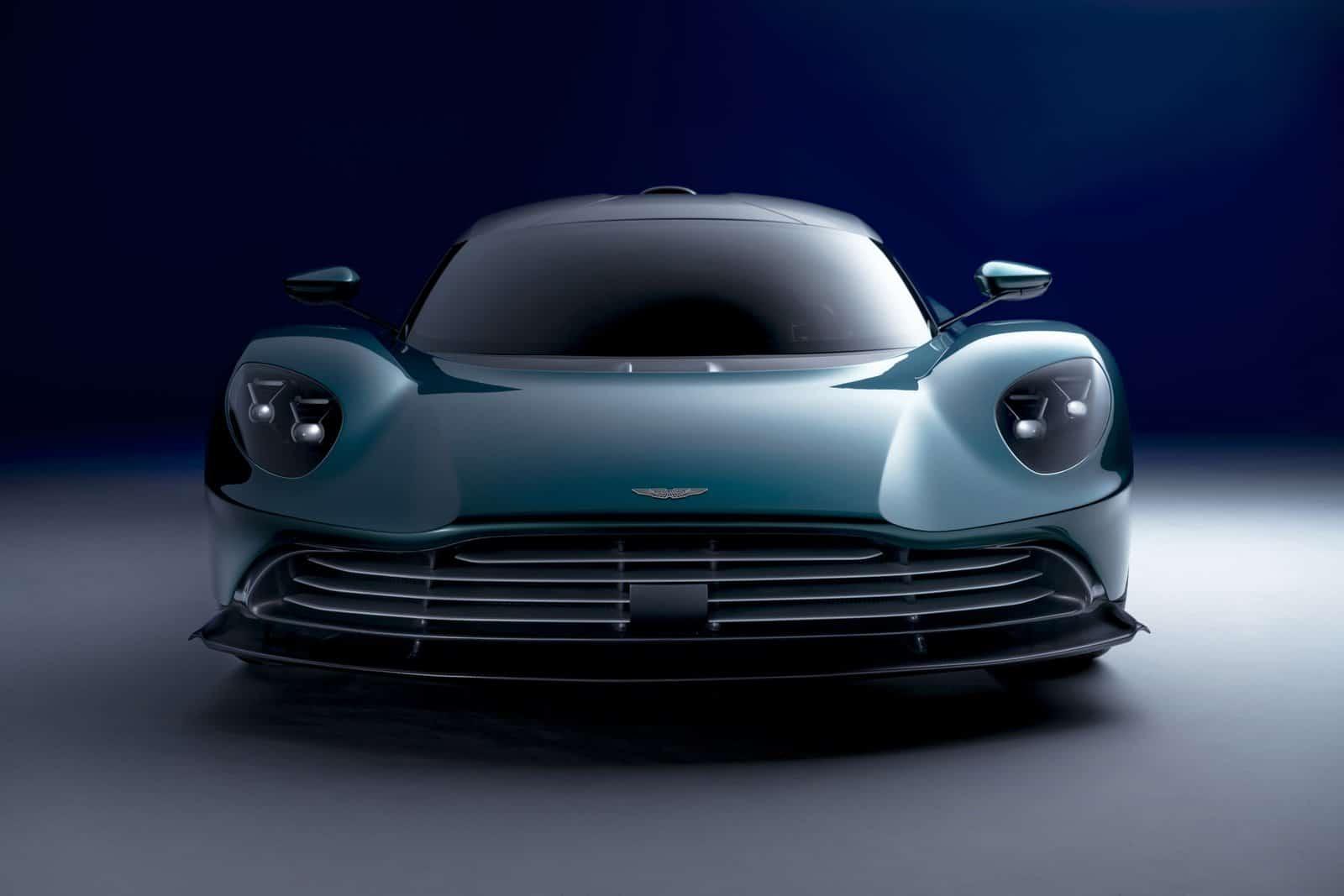 Aston Martin Valhalla frontal