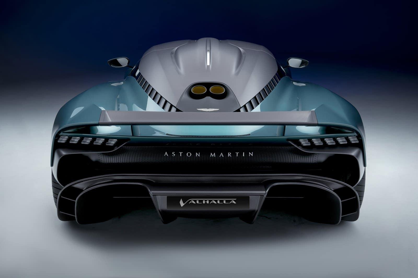 Aston Martin Valhalla trasera