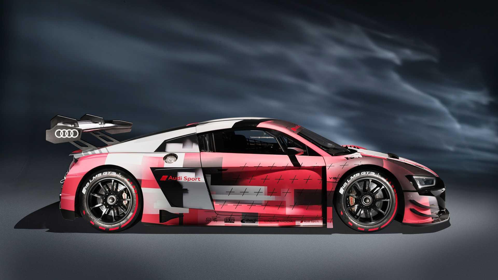 El Audi R8 LMS GT3 Evo II es una evolución del anterior R8 LMS GT3